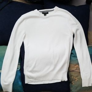 Off-White crew neck Banana Republic sweater
